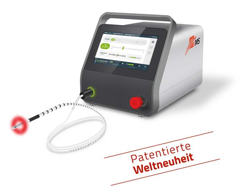 endovenöse Lasertherapie mit dem Venenlaser simLa 6